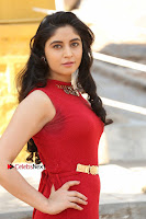 Telugu Actress Zahida Sam Latest Pos in Red Gown at RF Films New Movie Opening  0050.JPG