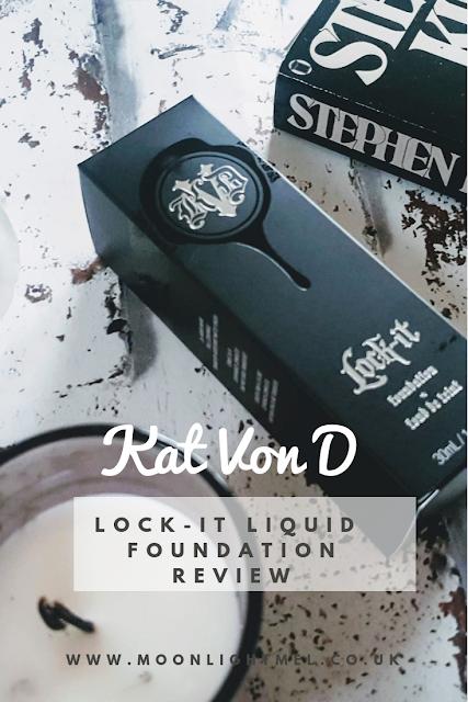 Kat Von D Lock-It Liquid Foundation | Review