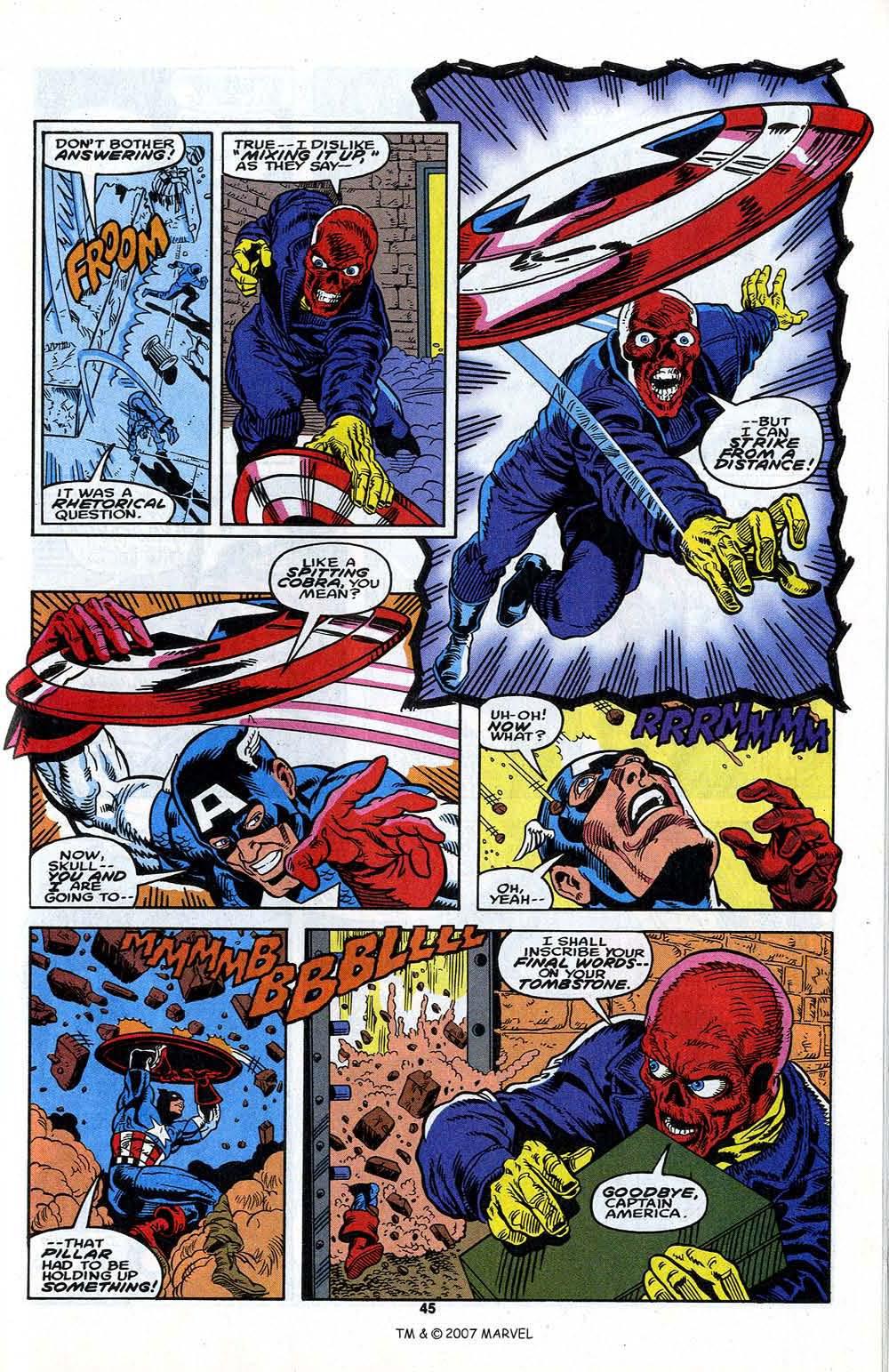 Read online Captain America (1968) comic -  Issue # _Annual 13 - 47