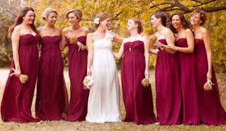 Ideas to Design Charming Dresses for the Bridesmaids