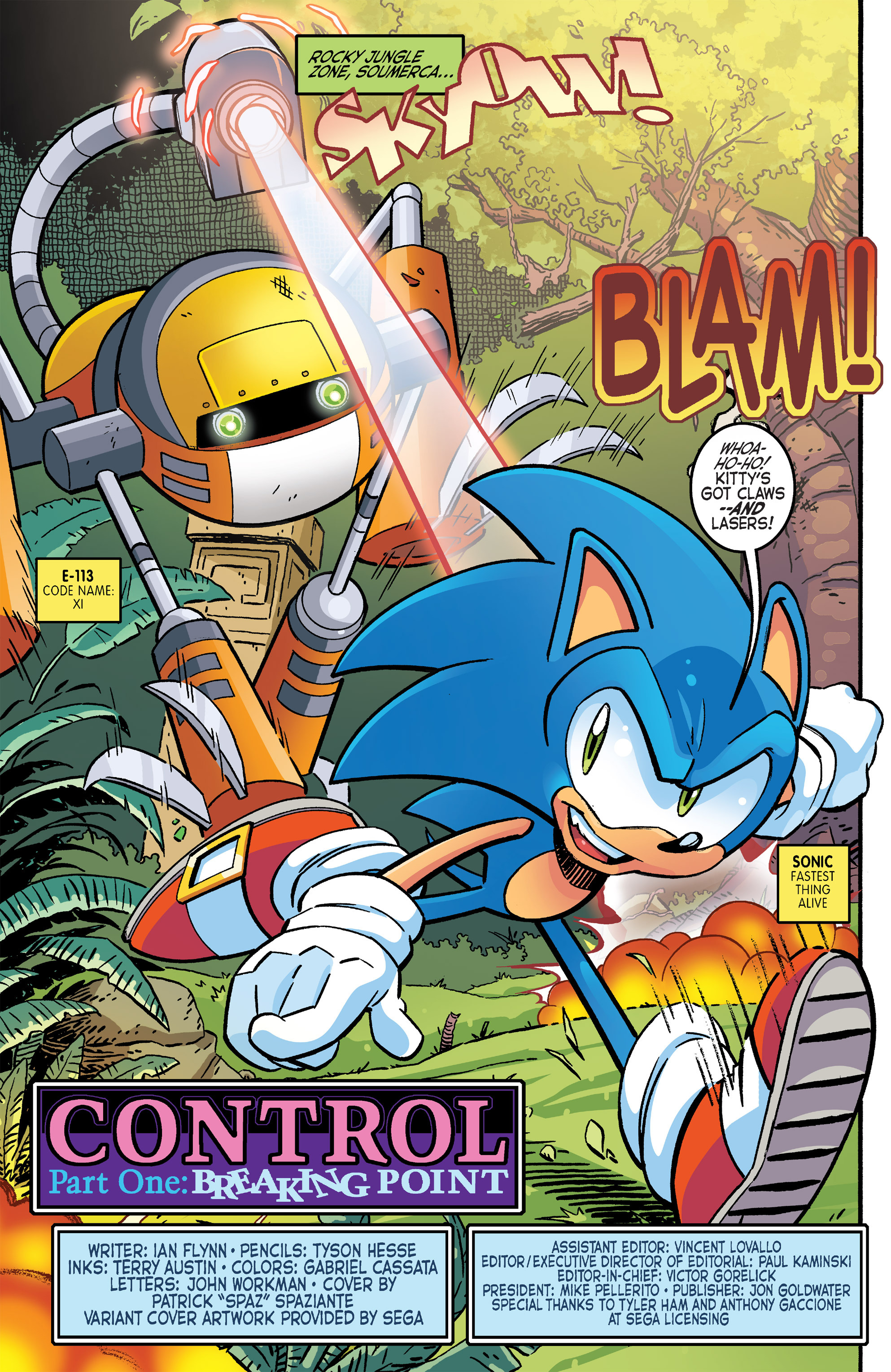 Comic Sonic The Hedgehog 1993 Issue 264