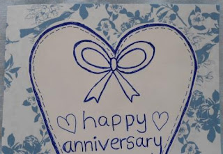 Elsie may and bertha anniversary cards