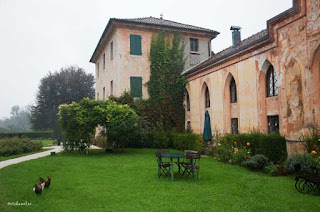 The Villa Buzzati is now available for guests to stay in  bed and breakfast accommodation