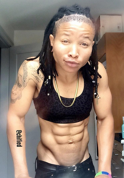 Chichi Igbo, The Nigerian Lady Who Is More Muscular Than Most Men Photos -8458