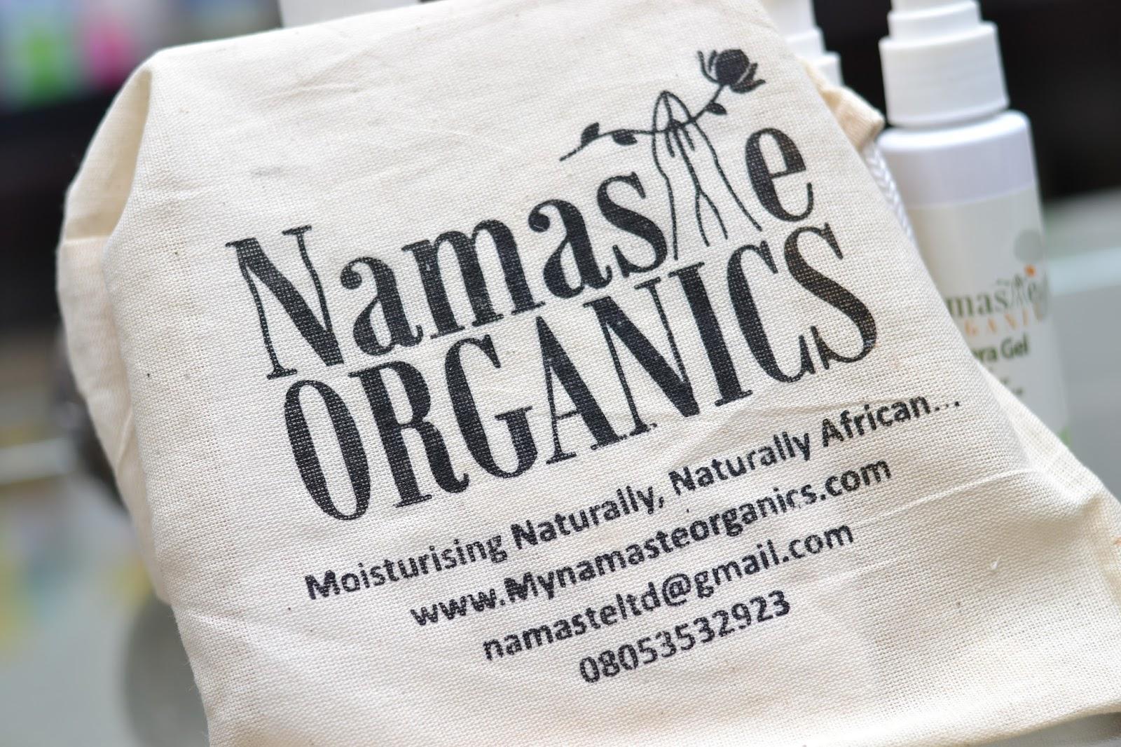 Products from Namaste Organics