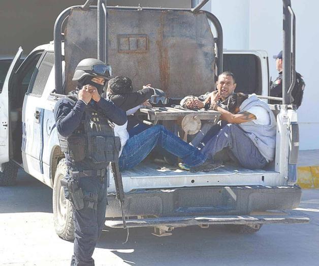 6 años y 8 meses de cárcel a Sicarios capturados en Reynosa