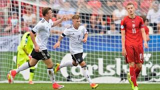 Trận cầu tâm điểm U21 Đức vs U21 Tây Ban Nha (01h45 ngày 1/7/2017)