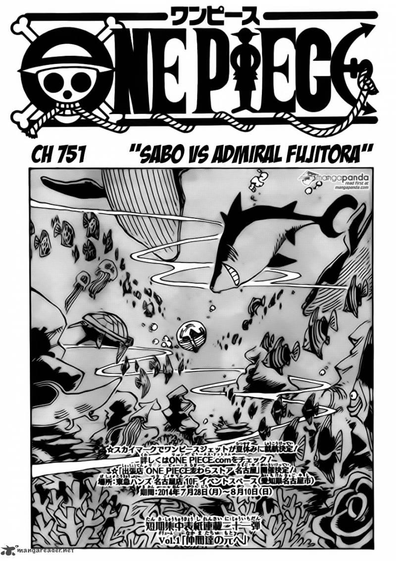 One Piece Ch 751