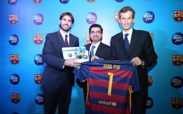 Ambi Pur, nuevo patrocinador del FC Barcelona en Asia