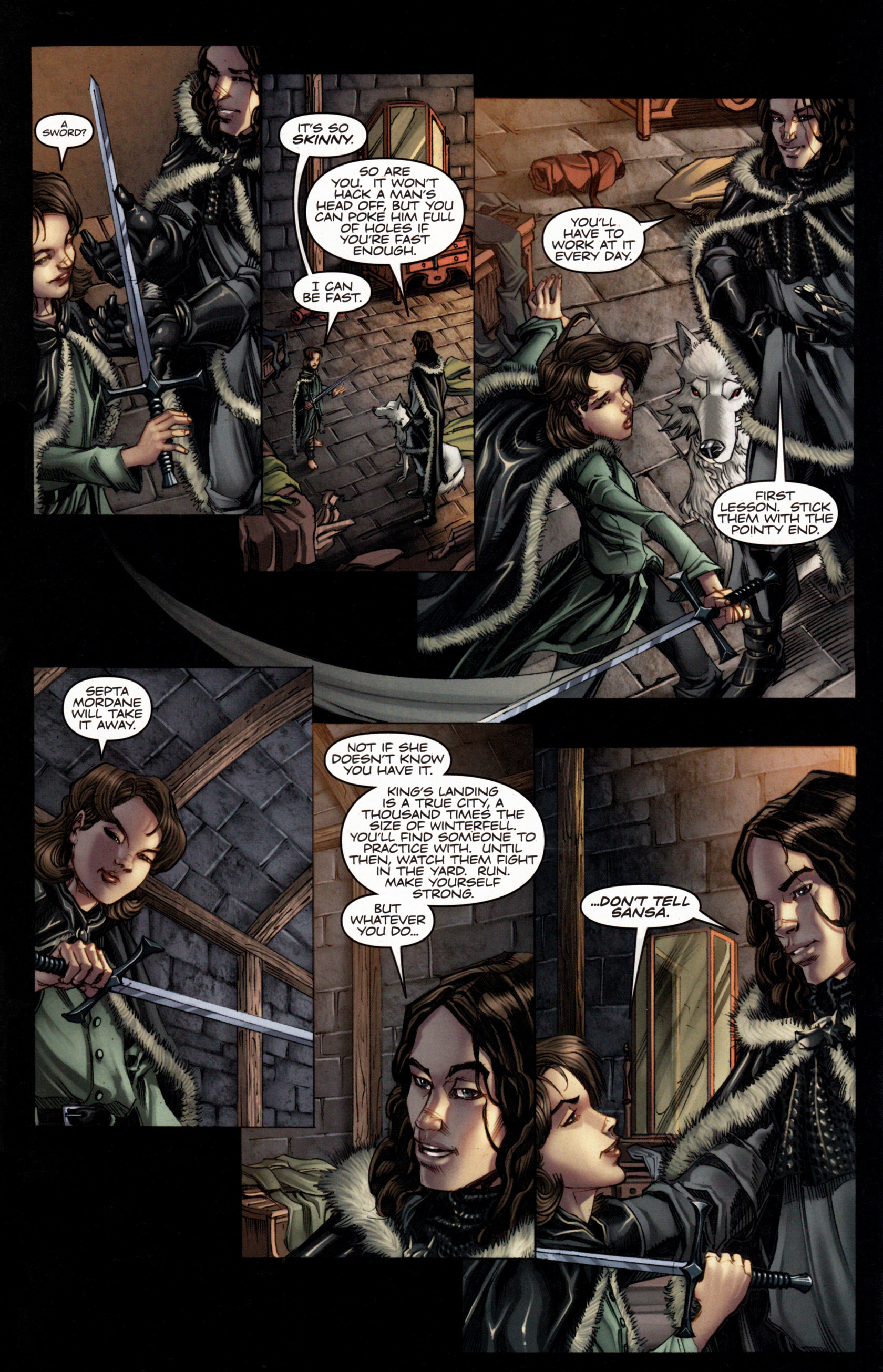 Read online A Game Of Thrones comic -  Issue #4 - 8