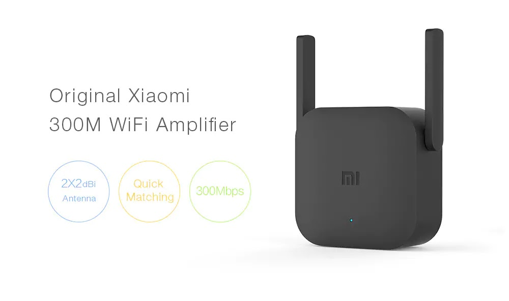 Xiaomi amplificado WiFi