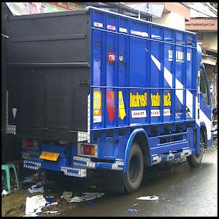 modifikasi truk canter jawa ceper