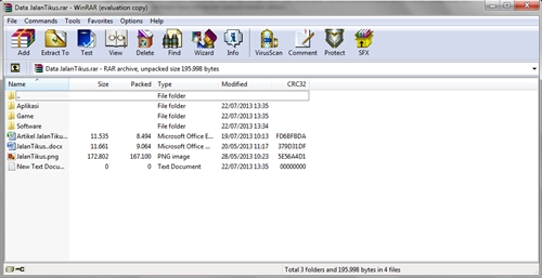 WinRAR Versi 5.11 Full Version