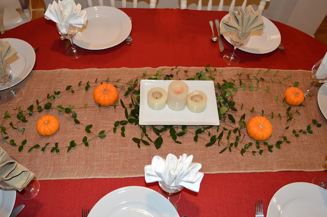 Tablescaping, Thanksgiving Table