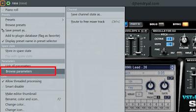 cara automation plugin tambahan di Fl studio 12
