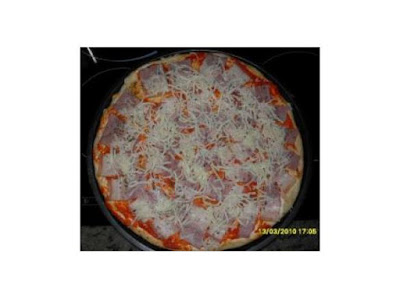 Pizza a mi manera thermomix