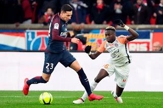 مباراة باريس سان جيرمان ومونبيلية بث مباشر