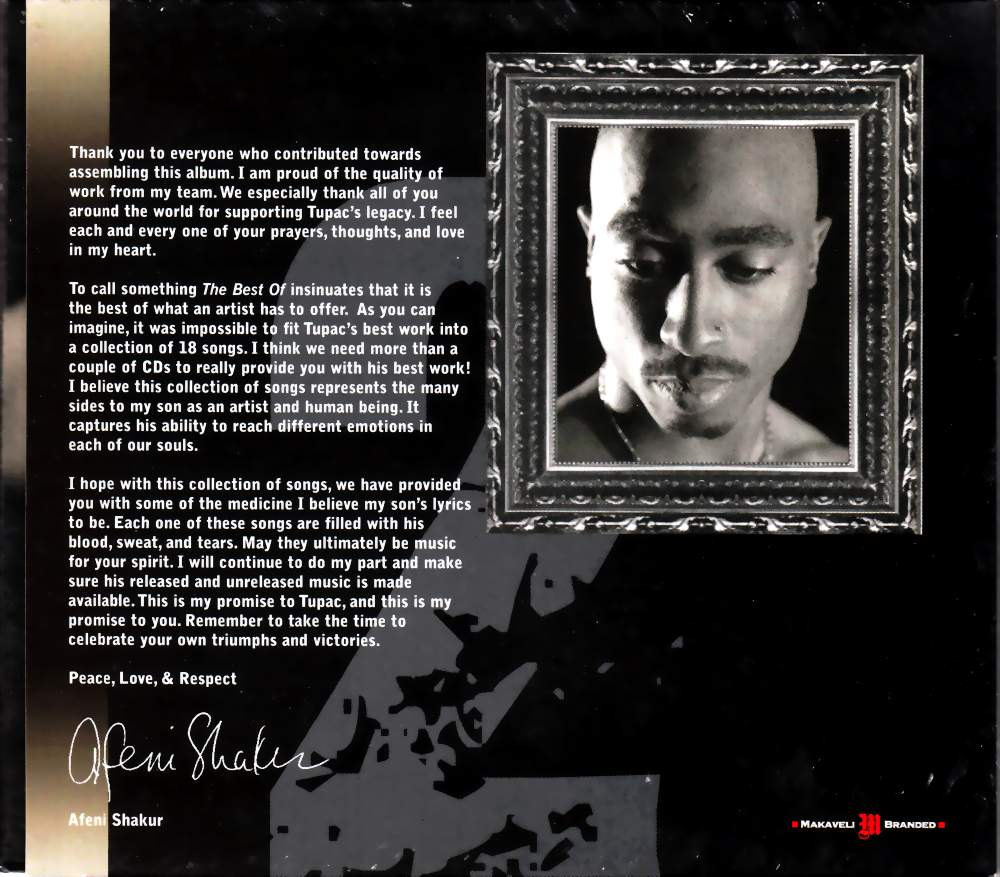 highest level of music: 2Pac - The Best Of 2pac - Part 2 Life