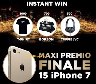 Logo Con Peroni e Old Wild West vinci migliaia di premi e 15 Iphone 7