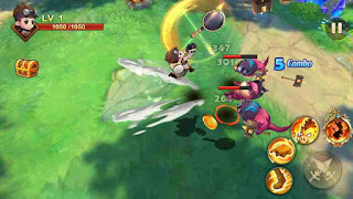 King Battle Fighting Hero Legend hack full vàng