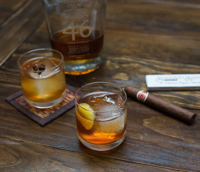 Old Fashioneds with Maker's 46
