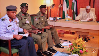 News: Buhari extends tenure of Service Chiefs