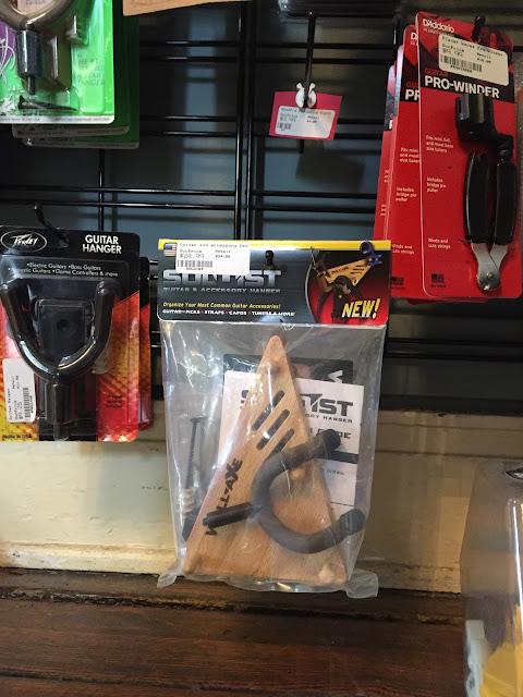 Wall Axe Custom Guitar Hangers