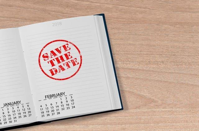 Menentukan hari dan tanggal untuk persiapan pernikahan