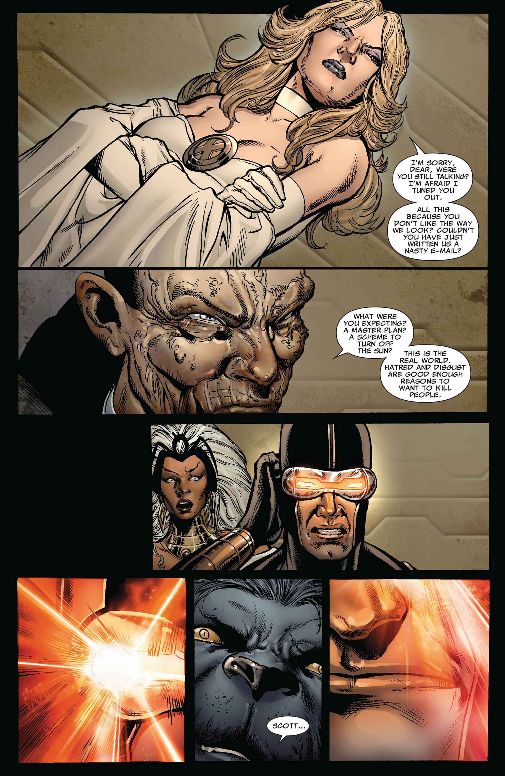 Read online Astonishing X-Men (2004) comic -  Issue #35 - 18
