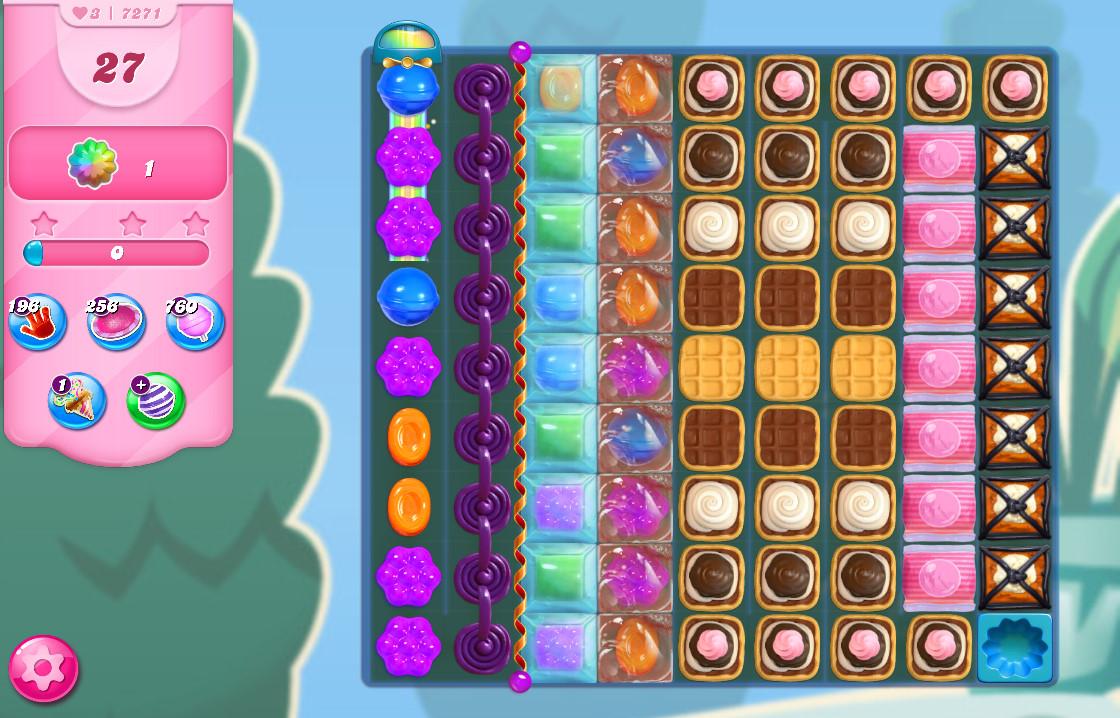 Candy Crush Saga level 7271