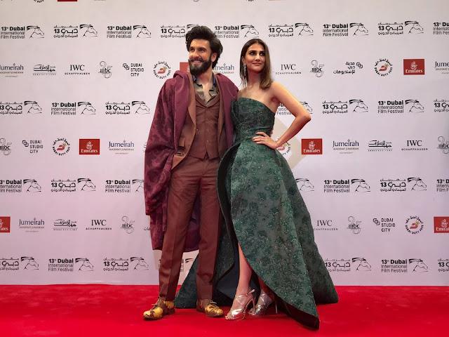 Ranveer & Vaani at DIFF 2016