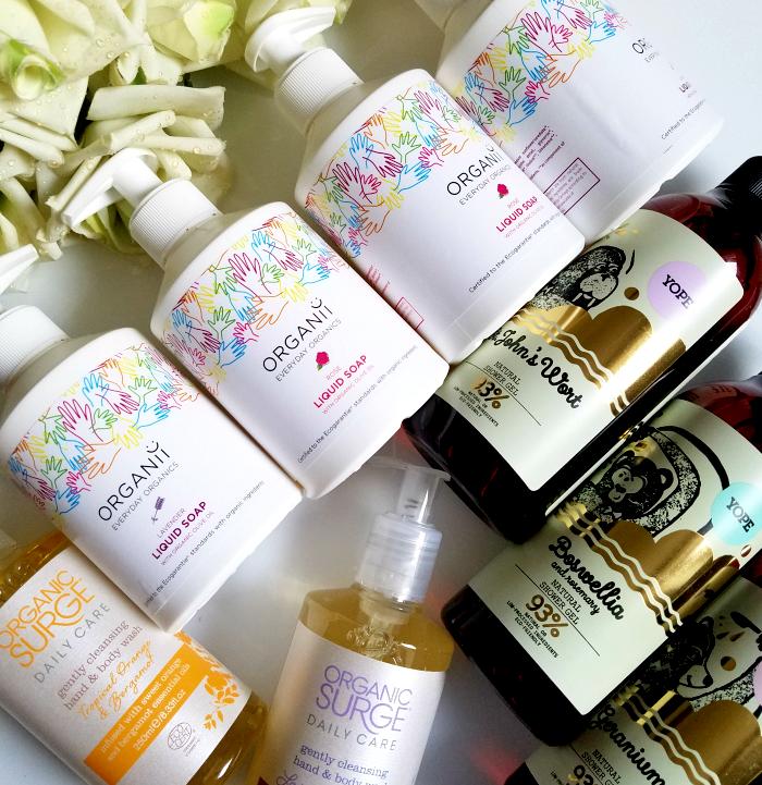 Quick Tipp: Natürliche Seifen & Duschgele von Organii, Organic Surge & YOPE