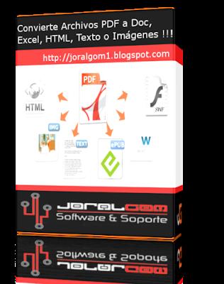 Total PDF Converter v6.1.121 Convierte Archivos PDF a  Word , Excel, HTML, Texto o Imágenes !!!!