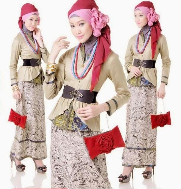 Desain Baju Muslim Batik Remaja 2015