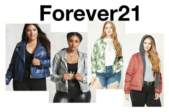 Forever21 Plus Size coat edit 2017
