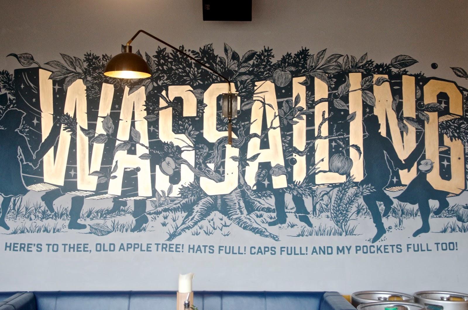 Wassailing Mural