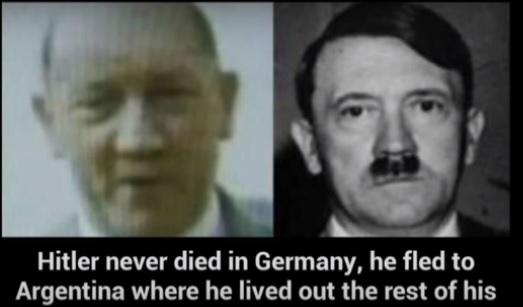 Gjendet varri i Adolf Hitlerit; vdiq në Argjentinë 94 vjeç?