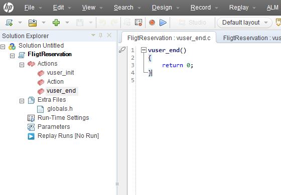 Web Services Script in Loadrunner