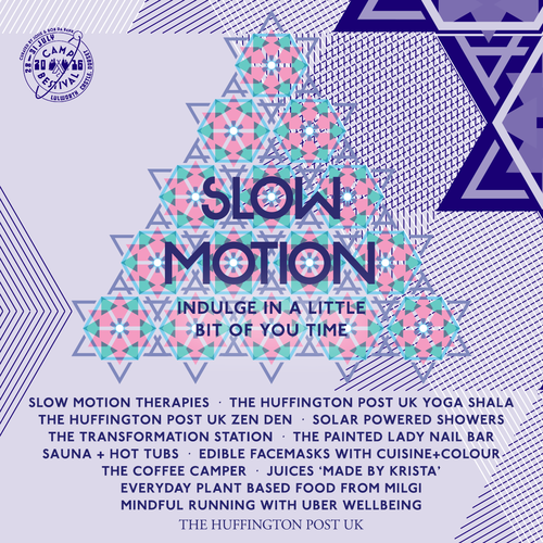 Slow Motion ~ Huffington Post UK Yoga Shala