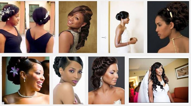 Wedding hairstyles african american brides gallery picture