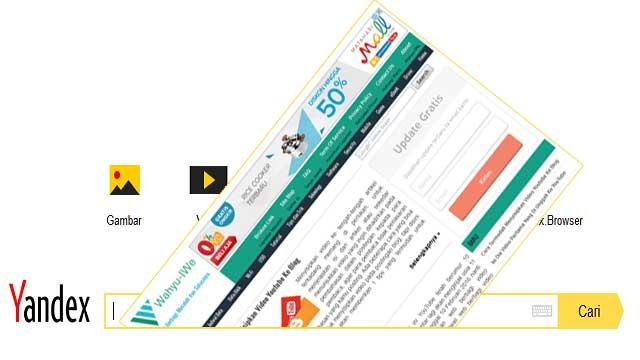 Cara Mendaftarkan Blog Ke Yandex