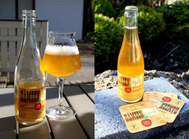 Lager-oluen etiketissä kaksi hahmoa ovat aloittamassa kivi, paperi ja sakset -peliä, josta itse.