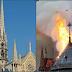 ප්රංශයේ Notre-Dame කුළුණ ගිනිගෙන විනාශවේ