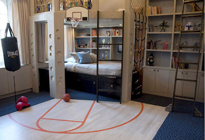 Sport Boy's Bedroom Decor Ideas