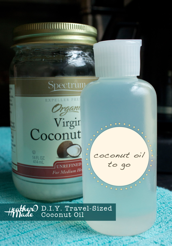 D.I.Y. Travel-Sized Coconut Oil