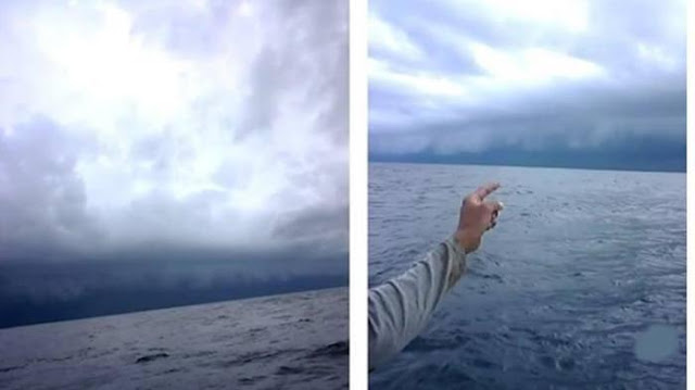 Sebelum Tsunami Terjadi, Nelayan di Makassar Saksikan Fenomena Ini ke Arah Selat Sunda