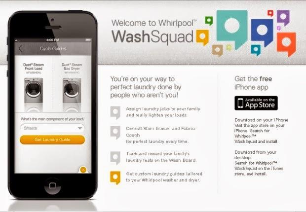 WhirlpoolWashSquad App