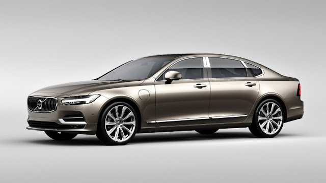 Volvo S90 Excellence the most luxurious model made in China