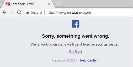 Breaking Instagram is Down For Everyone