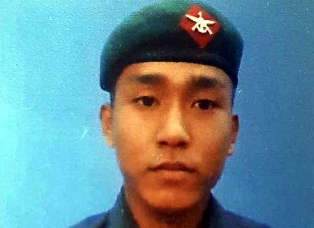 Rifleman from Darjeeling jiwan gurung